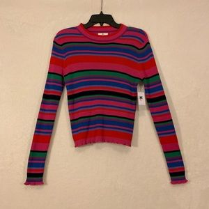 BP Striped Sweater Size Small NWT